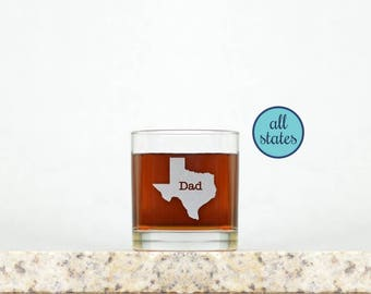 Custom Whiskey Glass   Rocks Glass, Whiskey Gifts, Father's Day Gift, Gifts for Dad