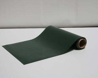 "12"" x 5 Yards -  Stahls' Clearance - Smooth - Craft Roll - Iron-On Heat Transfer Vinyl - HTV - Dark Green"