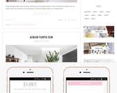 Blogger Template Responsive, Blogger Theme, Premade Blogger Templates, Blogger Template Minimal, Blogger Blog, Blogspot - Delaney