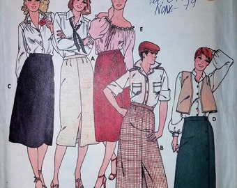 Vintage Sewing Pattern - Butterick #6345, Size 12