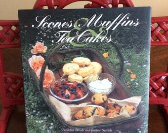 Cookbook  Scones, Muffins, Tea Cakes, Tea Party