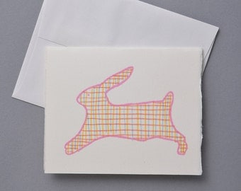 Children's Bunny Blank Card