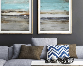 blue  grey  painting  wall art   abstract painting  original painting by  jolina anthony