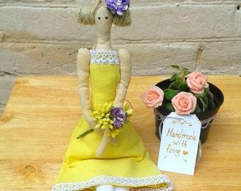 Tilda doll Debby, handmad doll
