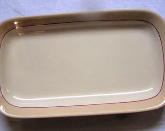 Buffalo China Cafe Au Lait Serving Plate