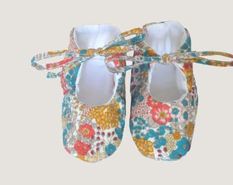 booties for new-born-liberty cotton booties.