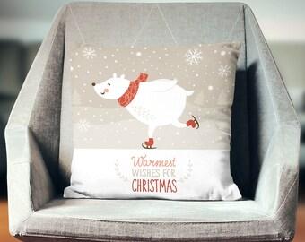 Winter Gift | Winter Pillow | Winter Throw Pillow | Winter Pillow Cover | Winter Home Decor | Winter Cushion | Winter Decor