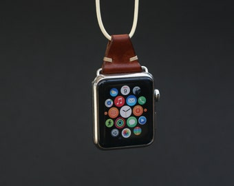 Apple Watch Leather Necklace
