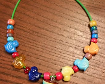 Girls Shopkins Necklace (Series #4)