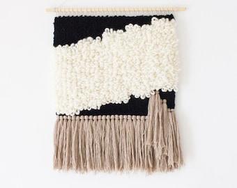 Woven wall hanging art | Handmade wall tapestry weaving | Wool wall hanging weaving tapestry | Boho wall decor | Custom made art