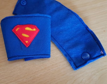 Set of two superhero inspired cuffs