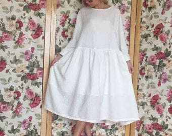 white linen dress, plus size clothing, linen womens clothing, white dresses for women, plus size linen, white dress women, maxi dress, linen