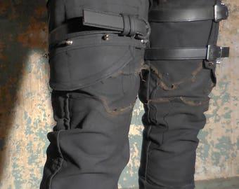 The Merciless SceneSick Post Apocalyptic Armored Stage wear Custom Unisex Pants