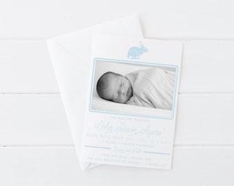 Birth Announcement - Bunny