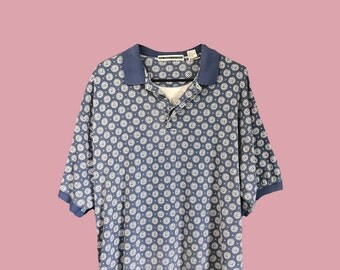 Funky Circle Polo Shirt