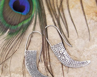 Hill Tribe Silver earrings. Ethnic earrings. Silver Jewelry. Silver earrings. Silver jewelry. Ethnic earrings. Ethnic jewelry.