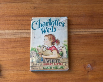 1952 First Edition Charlotte's Web by Stuart Little