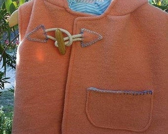 Upcycled Childrens Woolen Jackets & Vests