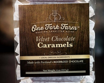 Velvet Chocolate Caramels - 4oz