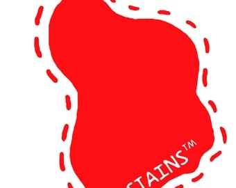 STAINS™ Felt Badge/Sticker