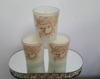 Himalayan cedar & jasmine scented candle