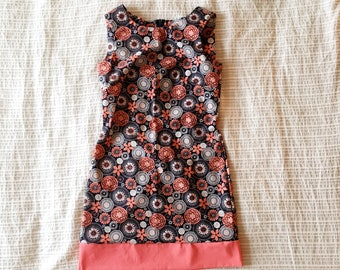 April Showers May Flowers Dress: Size Small