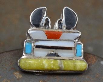 Unique kachina bird related items etsy for Thunderbird jewelry albuquerque new mexico