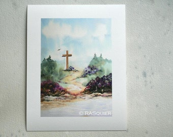 PRINT Julia's Cross a Giclée Fine Art Print 5x7 inches