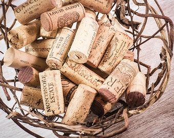 50 Beautiful Recycled Wine Corks