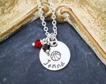 Basketball Gift Women Basketball Jewelry • Kids Basketball Team Gift Custom • Girls Basketball Gift • Coach Basketball Mom Sport