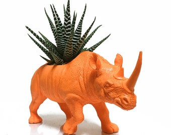 Arthur the Planted Rhino - the Original Toy Planter