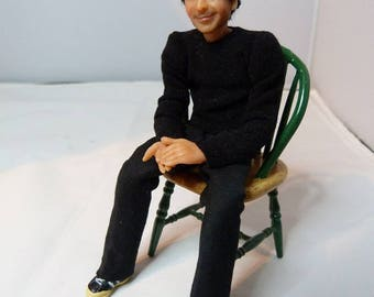 1/12th scale dolls house man - Rick by Jo Med