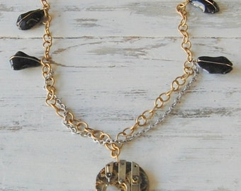 Steampunk Clockworks Necklace