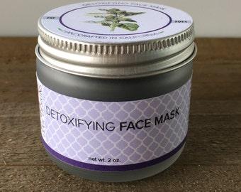 Detoxifying Clay Face Mask// Vegan Skincare // Clarify