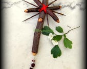 Summer Queen Hawthorn Goblins Cross - Witchcraft, Druid, Celtic, Magic, Wicca, Pagan