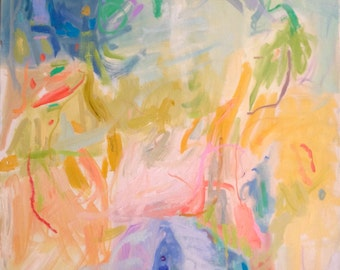 Allure - Modern Abstract Expressionistic Oil Painting