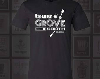 Tower Grove South Vinyl Record T-Shirt