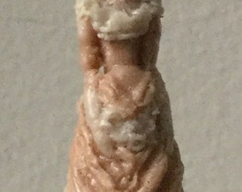 Dollhouse Miniature Resin Victorian Lady Statue  (BL)