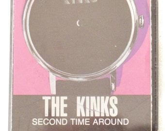 Vintage 80s The Kinks Second Time Around Album Cassette Tape