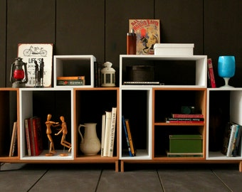 Scandinavian Wall Unit / TV Unit / Bookcase / Cabinet