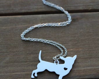 chihuahua charm | necklace
