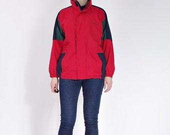 30% OFF SALE - Vintage Norheim Hidden Hoodie Outdoor Jacket / Size S/M