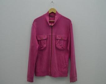 Issey Miyake Distressed Jacket Vintage Issey Miyake Sweater Made in Japan Size 3 Mens Size M/L