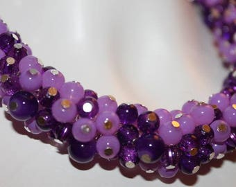 Jewelry, Pearl Jewelry, Necklace, Pearl Necklace, Jewelry Purple, Necklace Purple, Necklace Purple Pearls, Jewelry Purple Pearls, Purple