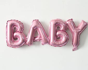 Baby letter Balloons / baby balloon /letter balloons