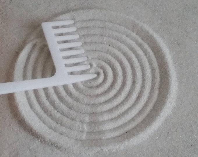 Zen Garden Rake, Medium Cocentric Circle Maker Rake, Sand Rake