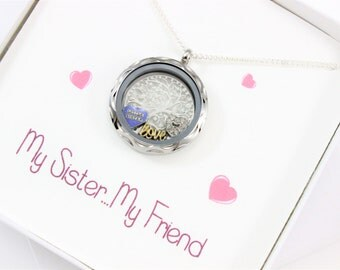 3 Sisters Necklace, Gifts for Sister, Matching Sister Necklaces, Sister Gift, Sister Necklace, Unique Gifts for Sister, Sister Jewellery,