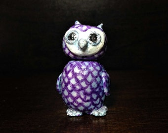 Adorable Polymer Clay Owl