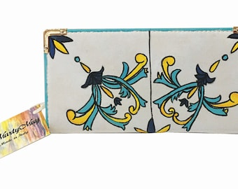 elegant, hand-painted Vietri ceramics collection portfolio, style ceramic tile