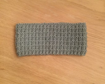 Blue headband / toddler headband / toddler ear warmer / knitted headband / knit headband